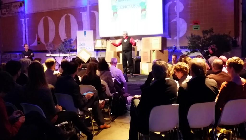 presentatie notulen gelijk na de notuleersessie door Rudy Rensink van MindMap.nl